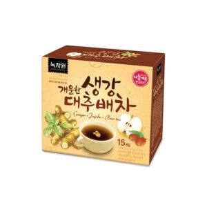 녹차원 개울한 생각 대추배차,녹차원, 차, чай з імбирем,чай з грушею,імбирний чай, чай з грушею,пряний чай,корейський чай, купити корейський чай,ginger tea,ginger jujube pear tea,nokchawon, tea, имбирный чай, чай с грушей,корейский чай,купить корейский чай