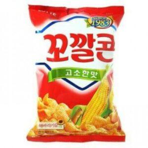 кукурузные чипсы кокалькон,купить кукурузные чипсы кокалькон в украине,лотте, лотте снеки, корейские чипсы, korean snack,lotte,lotte shack