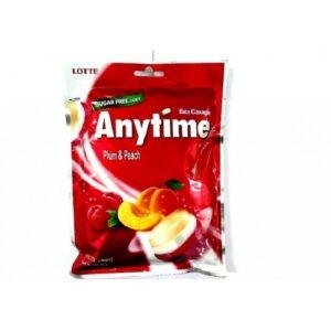 леденцы Anytime Plum& Peach, lotte Anytime Plum& Peach