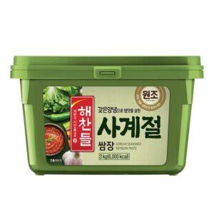 Паста Самджан,самдян,бобовая паста,совевая паста,корейская бобовая паста,самджан купить